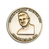 Pièce de monnaie d'enjeu d'insigne en métal de qualité
