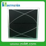 De geactiveerde Filter van de Spons van het Schuim van de Koolstof met het Frame van het Aluminium