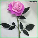 가정 훈장 결혼식 훈장 도매업자가 Fsilk 인공 꽃에 의하여 가짜 로즈 꽃이 핀다