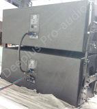 """Линия блок Das Aero компактная определяет 12 """" двухсторонних пассивных и активно приведенных в действие тональнозвуковых дикторов звуковой системы"""