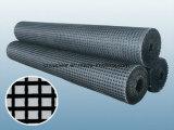 Vetroresina rivestita Geogrid 50/50kn/M del bitume 100/100/Kn/M 120/120kn/M 150/150/Kn/M 200/200kn/M per il rinforzo dell'asfalto