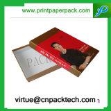 Высокая подгонянная Quanlity коробка подарка бумаги картона тканья