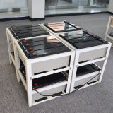 AGMの鉛酸蓄電池12V100ahの前部ターミナル充電電池