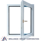 Indicador de vidro do Casement de alumínio do perfil com rede do aço inoxidável