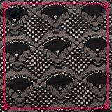 Algodão Nylon Africano Cord Lace Tecido 2017