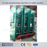 Prensa de vulcanización hidráulica de goma con Xlb-750*750 de múltiples capas