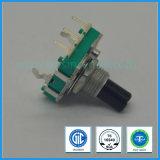 de Stijgende Codeur van 16mm met Plastic Schacht voor de AudioApparatuur van de Mixer