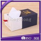 Fach-Entwurfs-Beschaffenheits-Papier-Uhr-Geschenk-Kasten mit Samt-Kissen