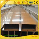 6063-T5 anodizó/final del molino/tubo de aluminio cubierto polvo de la protuberancia