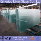 vidro modelado endurecido térmico solar do espaço livre de 4mm /Tempered com En12150