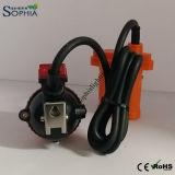 Lampe de chapeau d'avertissement de méthane de Klw5lm 5ah, lampe de l'alarme CH4
