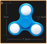 Tri fileur de main de fileur de Fridget d'éclairage LED de jouet courant