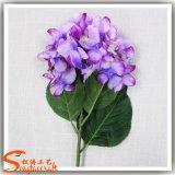 Hydrangea di seta del fiore artificiale per la decorazione di cerimonia nuziale