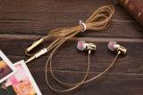 fone de ouvido prendido de alta fidelidade de Earbuds do fone de ouvido da em-Orelha de 3.5mm para o iPhone de Samsung