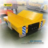 El coche de carril de la manipulación de materiales enrolla la carretilla del ferrocarril