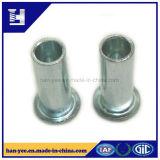 Zinc entièrement tubulaire de rivet d'acier pour l'usage de chaussure
