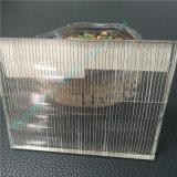Glace estampée par soie de verre feuilleté en verre/sûreté/sandwich/glace décorative claire