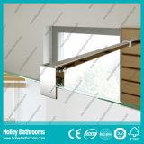 Walk-in Dusche-Aluminiumbildschirm mit ausgeglichenem lamelliertem Glas (SE928C)