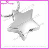 Le collane che tengono le ceneri Star il pendente con l'impronta digitale Ijd9728