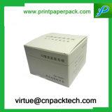 Rectángulo de papel de empaquetado de Phaemaceutical de la impresión de encargo con insignia