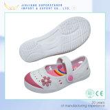 EVA quatro sapatas da estação, sapatas lisas das sandálias da mulher com multi cores para a escolha