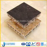 Leichtes Steinmarmoraluminiumbienenwabe-Panel für Wand-Umhüllung