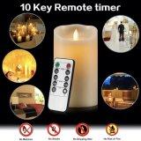 Vela Flameless de dança do diodo emissor de luz para a decoração Home