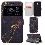 в черни PU штока или картины OEM красивейших кожаный/аргументы за Samsung J5 2017 крышки телефона печати Filp бумажника клетки