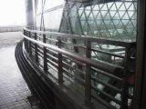 Поручень балюстрады лестницы нержавеющей стали Railing штанги стальных продуктов
