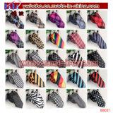 Décoration d'usager de cravate de relation étroite de satin de piste de plaine de relation étroite de polyester de cravates (B8040)