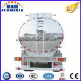 3 as 52cbm de Semi Aanhangwagen van de Vrachtwagen van de Tanker van de Lading van de Brandstof van de Legering van het Aluminium