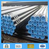 Exportateur et constructeur de l'assurance qualité noire et du prix concurrentiel de pipe en acier d'ASTM A106 gr. B Sch40