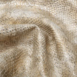 La borsa di cuoio dell'unità di elaborazione del serpente calza il materiale