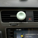 Rundes duftendes keramisches Auto-Luft-Erfrischungsmittel mit Luftauslass-Klipp (AM-81)