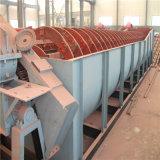 Ligne argentée classificateur de réduction de minerai de sable de spirale d'utilisation