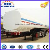 Linha central 3 50000 de carbono do aço do petróleo de tanque do caminhão litros de reboque Semi com silo 4