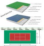 安く2017熱い販売PVC圧延のテニスの床