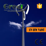 Het op-netSysteem van de Turbine van Vawt 1kw Verticaal met onderhoud-Vrij