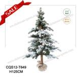 Decorazione artificiale di festa dell'albero di Natale di tocco reale di H95-H150cm 2017 con indicatore luminoso