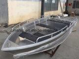 13,8Tm 4.2m Barco de Alumínio de Alumínio Aberto Qm420