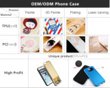 Téléphone mobile Cas d'Accessories Custom Clear Transparent Crystal Soft TPU Printing de téléphone mobile pour l'iPhone 6 Phone Case/Cover