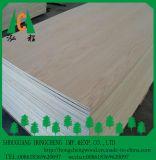 La chapa de la ceniza hizo frente a la madera contrachapada de la ceniza del grado de la madera contrachapada/de los muebles