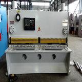 Машина гидровлической гильотины CNC режа (гидровлические ножницы гильотины)