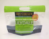 Sacchetto della maniglia con la chiusura lampo per il pollo caldo