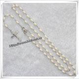別のビード材料および聖者のカトリック教の数珠、宗教数珠(IOcr290)