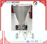 Utilizado para (cemento el 60%, arena fina el 10%, agua el 30%) la máquina que pinta (con vaporizador) de gran viscosidad
