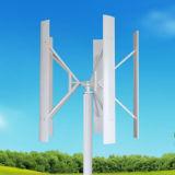 Turbina de vento vertical híbrida solar da eletricidade 2kw da turbina de vento do sistema da geração do micro vento do gerador