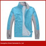 Cappotto leggero all'ingrosso del rivestimento di stampa per funzionare di sport (J145)