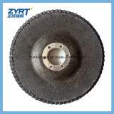 Rueda de la solapa con el disco abrasivo de la solapa de Sahft