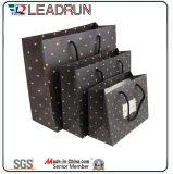 회색 오프셋 종이 마분지 예술 입히는 손 종이 골판지 주문 서류상 패킹 부대 (F95)